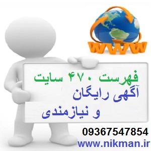 لیست سایتهای بانک مشاغل